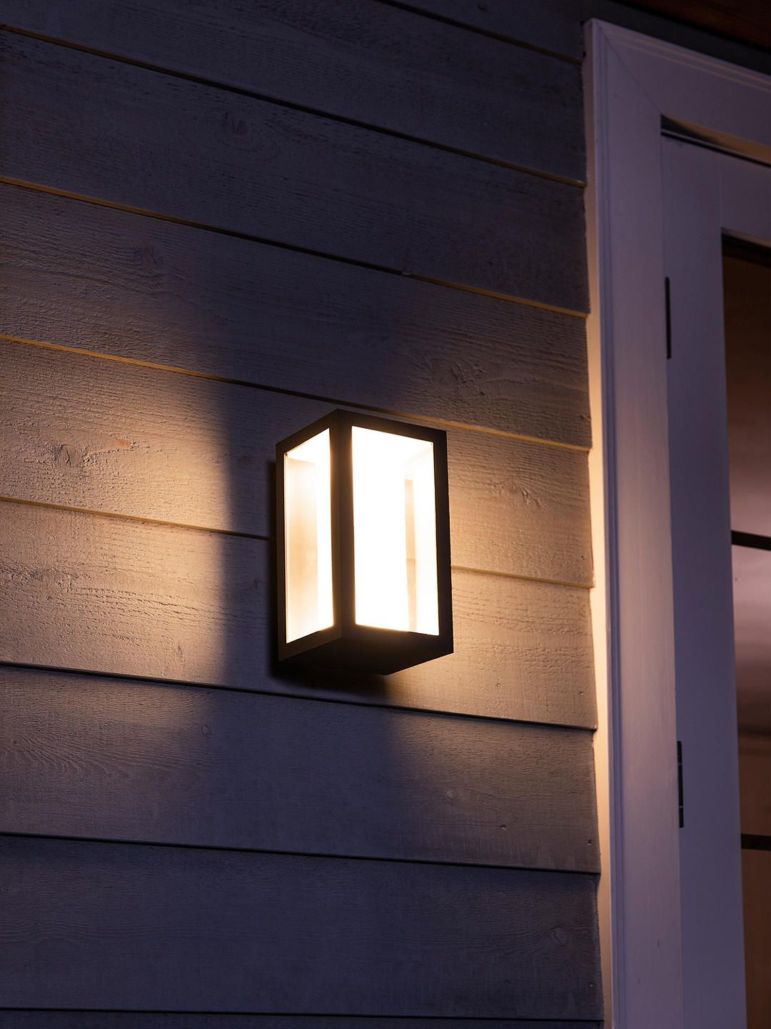 Led-außenwandleuchte Rachel Philips Hue White And Colour Ambiance Impress Led Outdoor