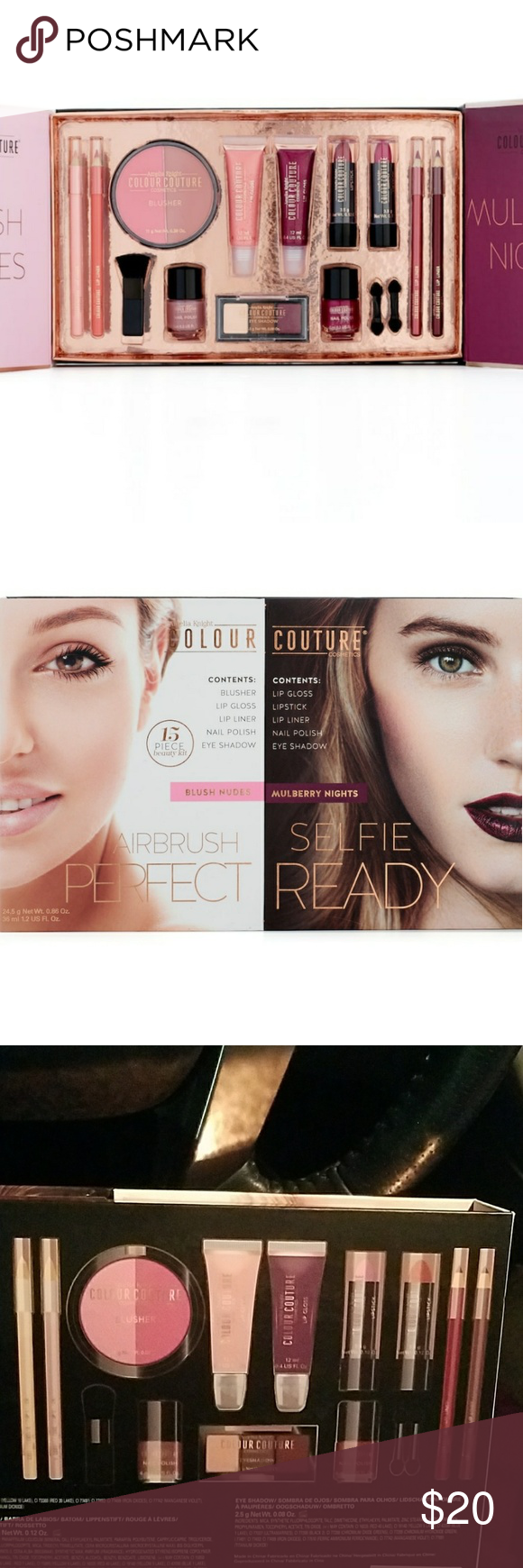 Amelia Knight Color Couture makeup kit. NWT Couture
