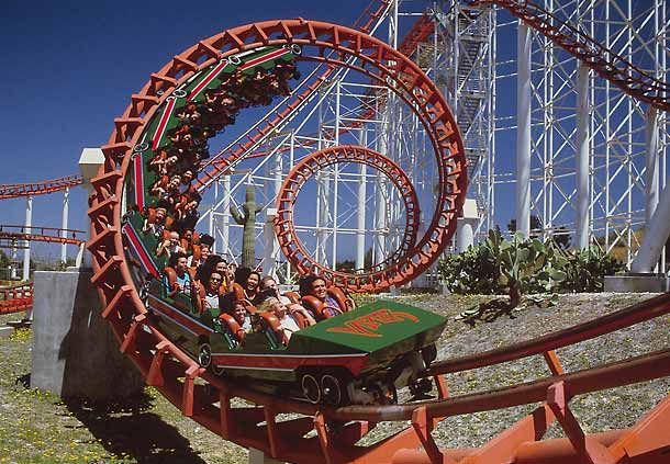 Viper Is A Steel Roller Coaster Made By Arrow Dynamics Of The United States The Roller Coaster Is Located In T Thrill Ride Roller Coaster Best Roller Coasters