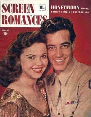 Shirley Temple and Guy Madison March 1947