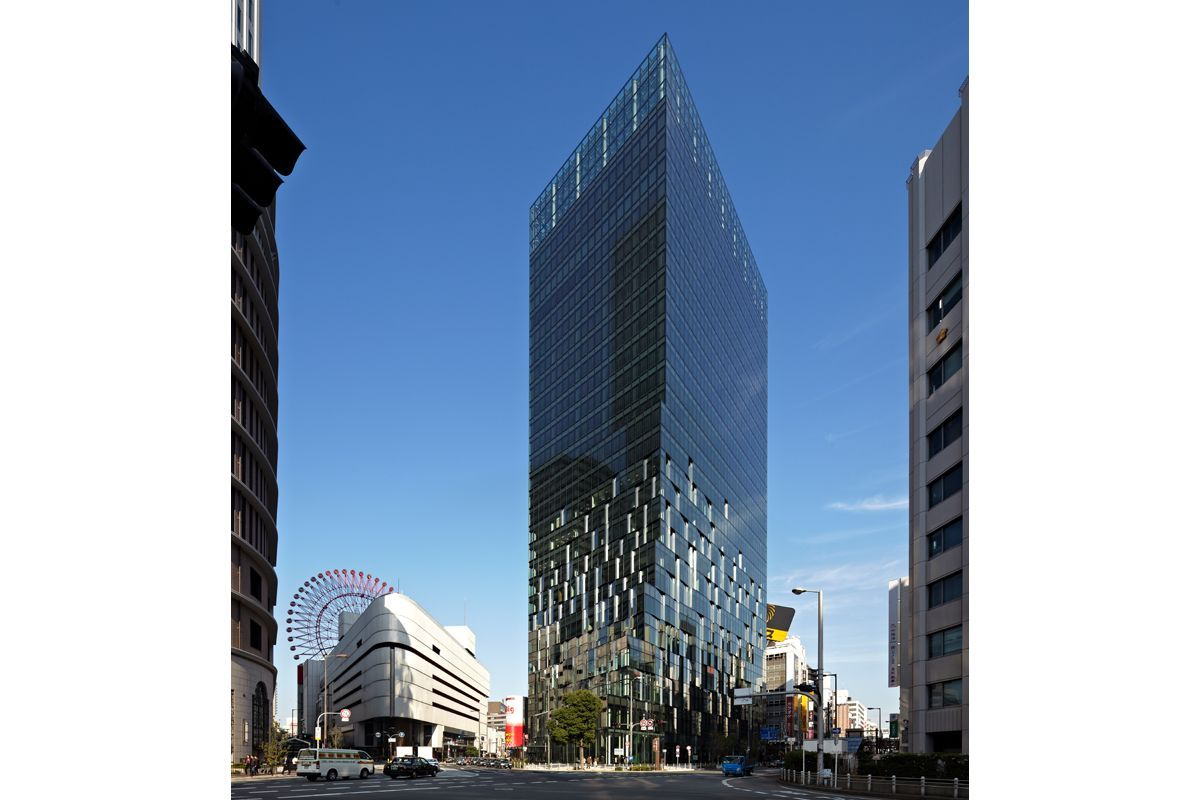 Fukoku Life Osaka Japan Dominique Perrault Architecture