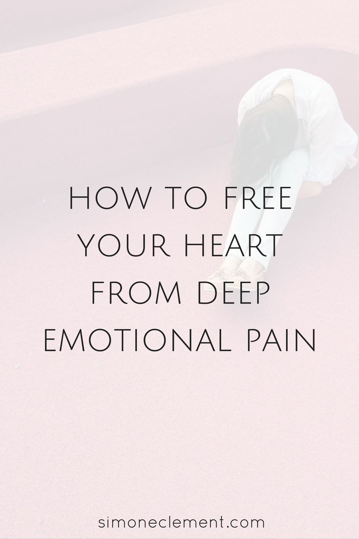 Free your heart from the weight it carries from past traumatic experiences.  Life is too
