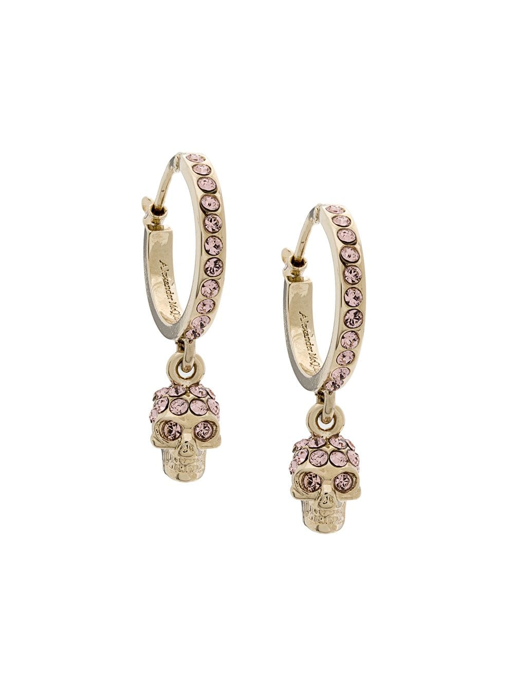 c82330108 Alexander McQueen Skull earrings - Gold in 2019 | Products | Skull ...
