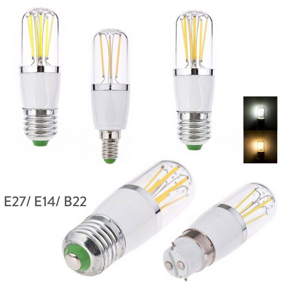 E14 E27 3w 4w 6w Led Filament Light Bulb Dimmable B22 Bayonet Replace 30w 40w 60w Incandescent Lamp 220v 110v Dc 12v Di 2020