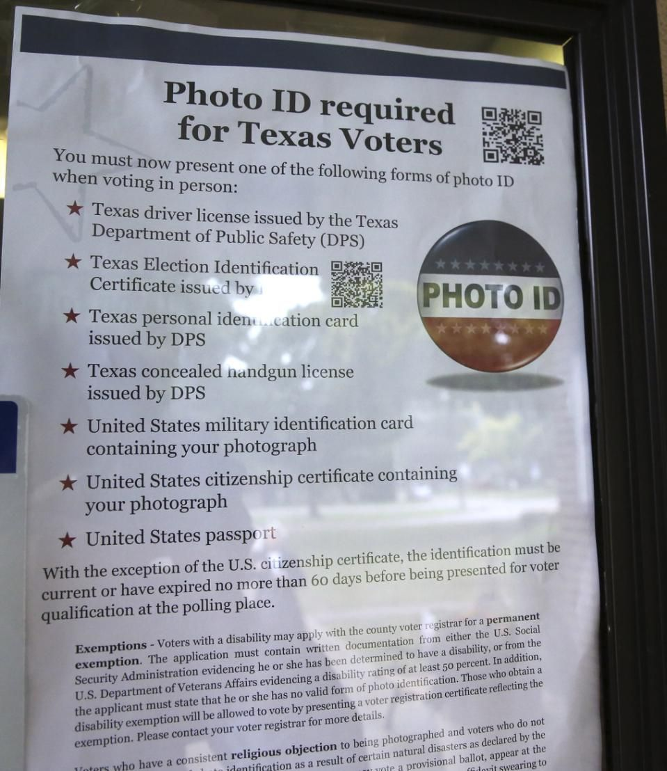 A federal appeals court struck down texas voter id law on a federal appeals court struck down texas voter id law on wednesday in a victory aiddatafo Image collections