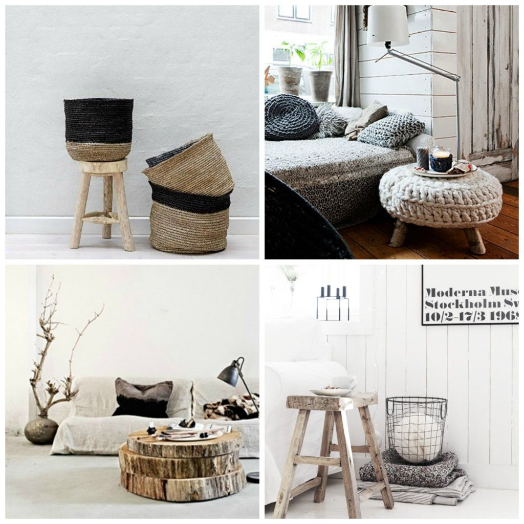 Prachtige houten accessoires geven het interieur meer warmte en ...