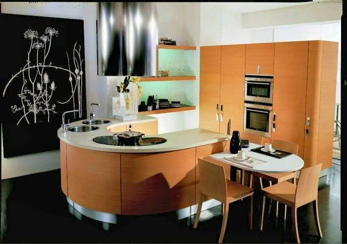 Photo of Space-saving furniture for the kitchen, interesting proposals to make it wider