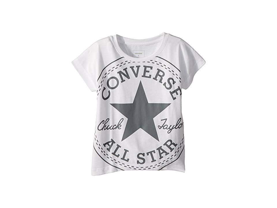 Converse Boys Oversized Chuck Femme Tee White