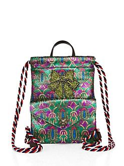 046e813ca3cb12 Women's Backpacks | Saks.com Gucci 2018, Mini Backpack, Drawstring Backpack,  Blue