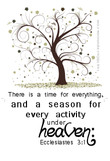 ecclesiastes 3 1 there is a time for everything the