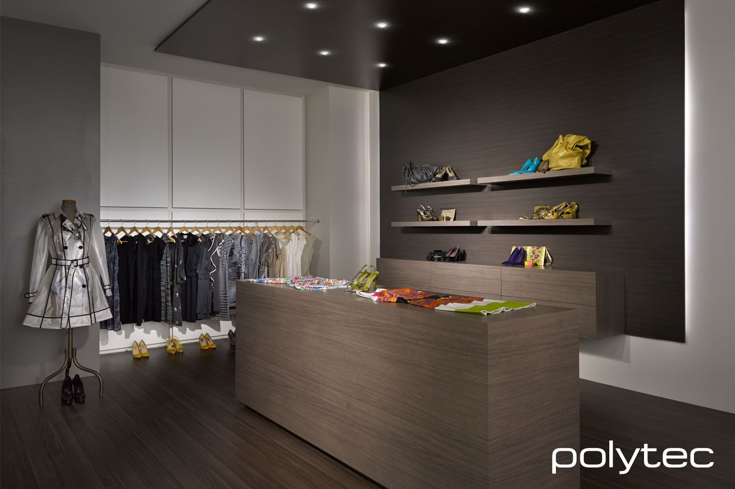 Polytec Counter Drawers And Shelving In Laminate