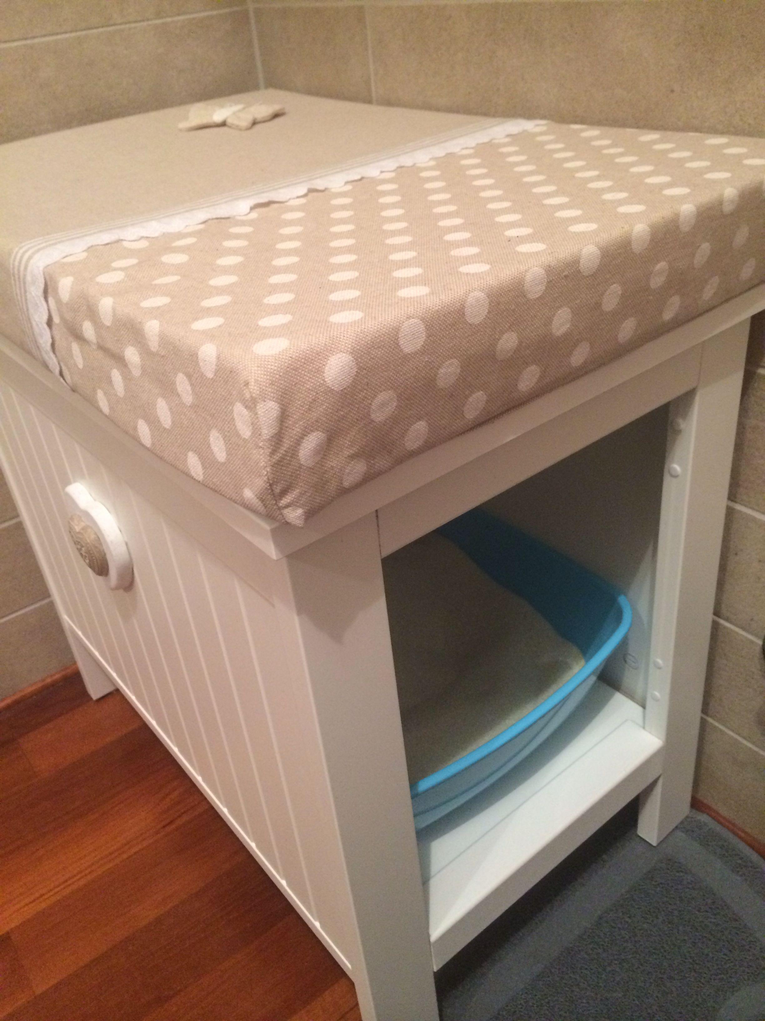 Lettiera per gatto-litter box. Ikea Silveran modificata | I miei ...