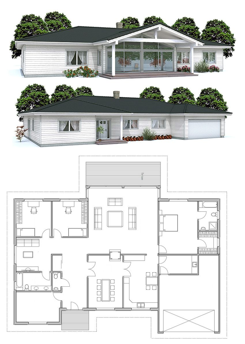 House plan covered patio idea mid for Concept home com