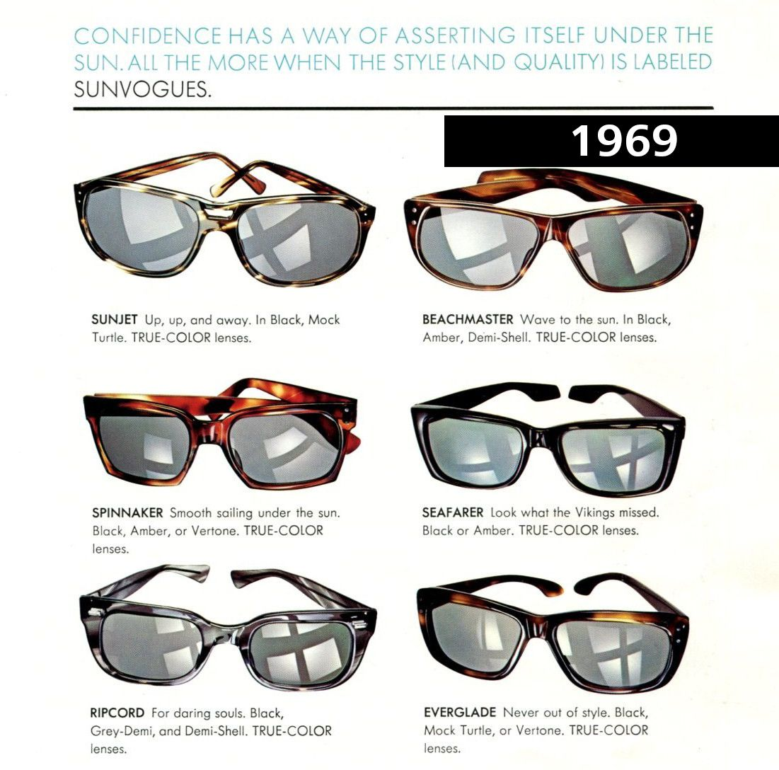 c1525395ba9  ZEISS  Opticalheritagemuseum  heritage  frames  glasses  old  1969   magazine  advertising  marketing  sunvogues  vintage  AO
