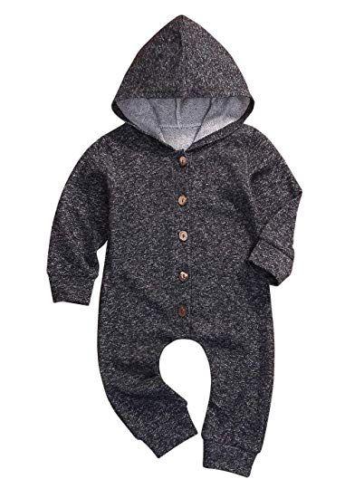 42443ca43 Younger Tree Infant Toddler Baby Boy Romper Summer Jumpsuit Short ...