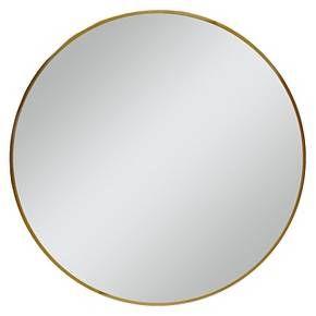 Wall Mirror Target round mirror brass 28 - threshold | round mirrors, target and rounding