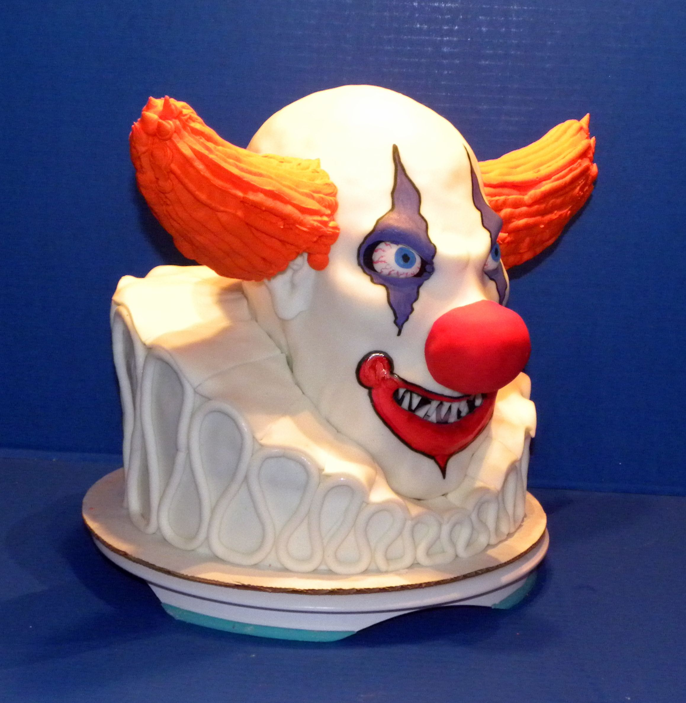Another cake from Michelle s Cake Designs LLC Evil Clown Cake