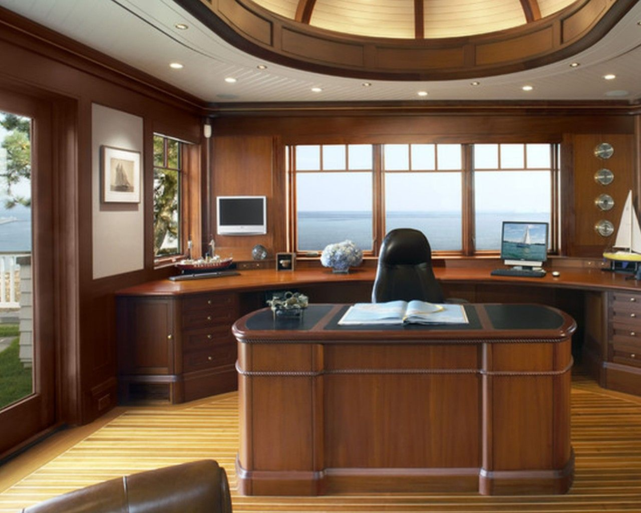 Delightful Pictures Of Home Offices Inside Likable Luxury Home Office Unique Substance