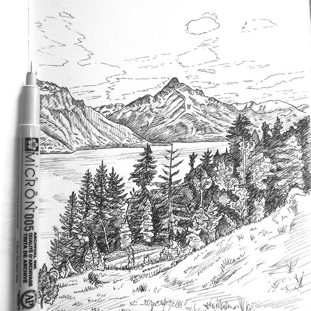 Inspirational Pen And Ink Drawing By Drawntosketching