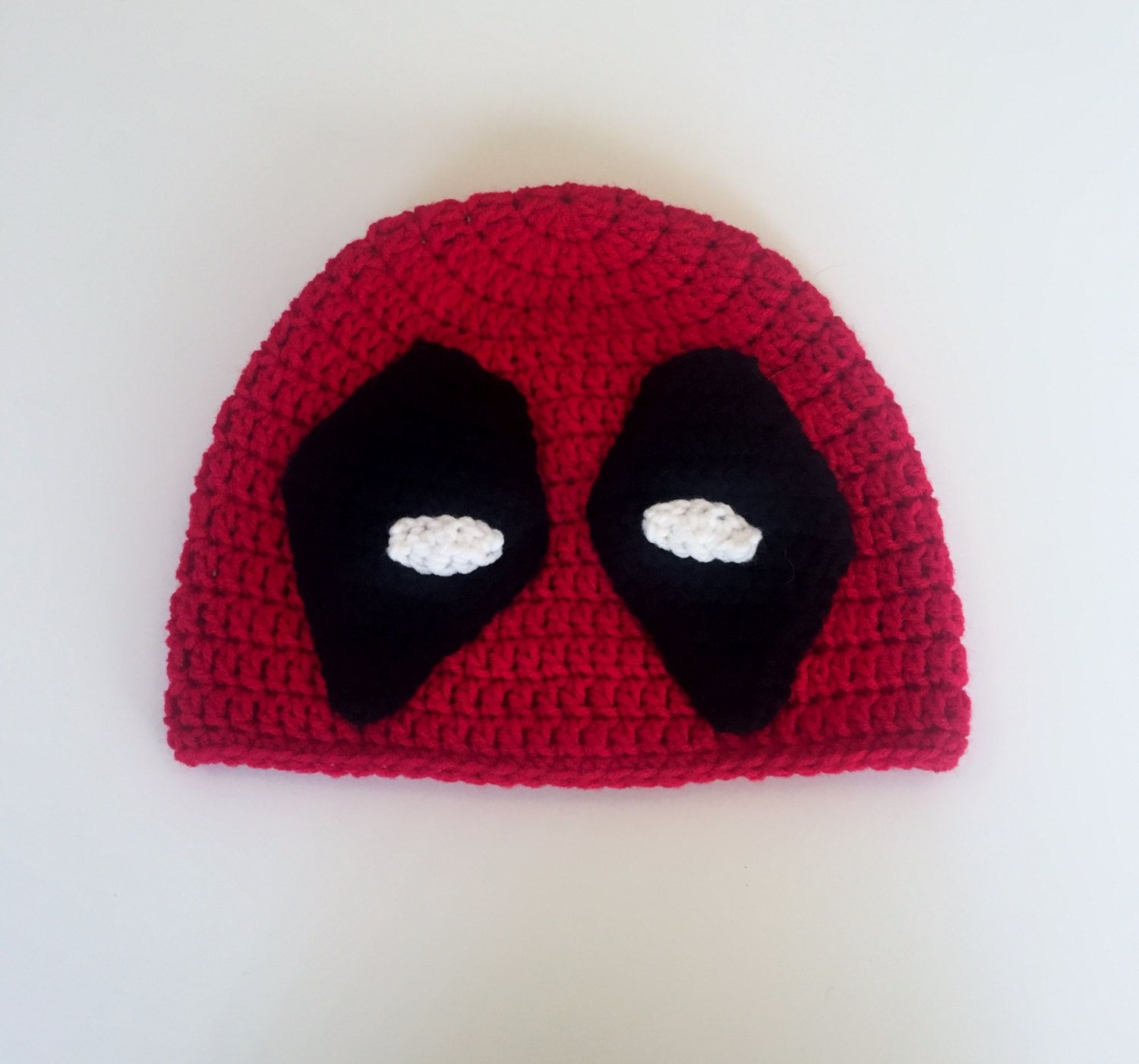 Deadpool Hat Crochet Beanie Halloween Costume Marvel Comics Men s Costumes  Deadpool Costume Boy s Hats Character Hats Movie Characters X-Men Knit  Toque ... 1ae4803e68b