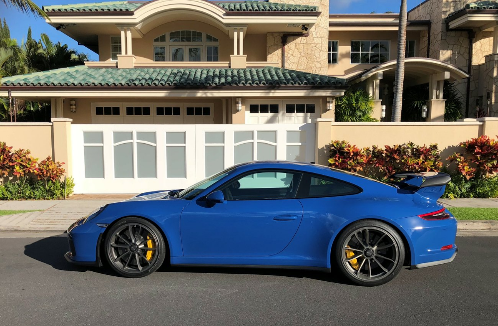 2018 PTS Golf Blue GT3 - Rennlist - Porsche Discussion Forums | Porsche, Gt3, Porsche gt3