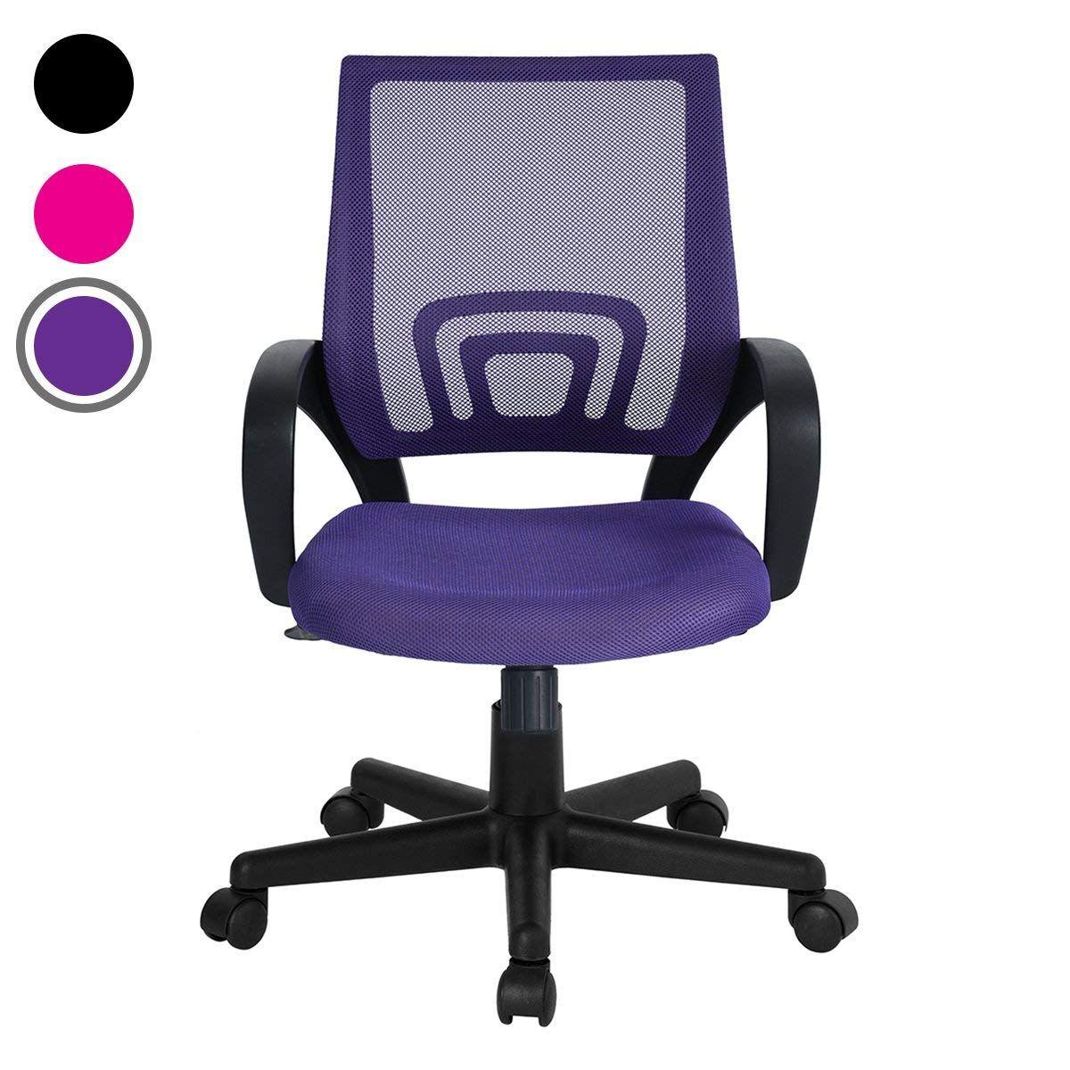 Homy casa rolling office task desk chair
