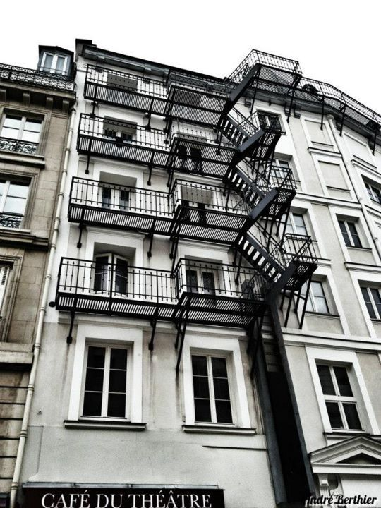 Stairs by André Berthier