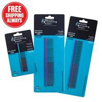Master Grooming Tools Rainbow Combs, 4-Piece Kits