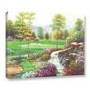 'Waterfall At Fifteen' by Joe Sambataro Framed Painting Print