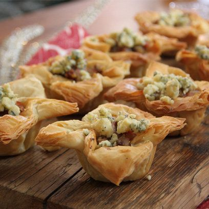 John whaite s poached pear filo canapes recipe filo for Canape using fita