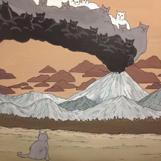 Мои закладки | Кошачий арт, Иллюстратор, Рисунки