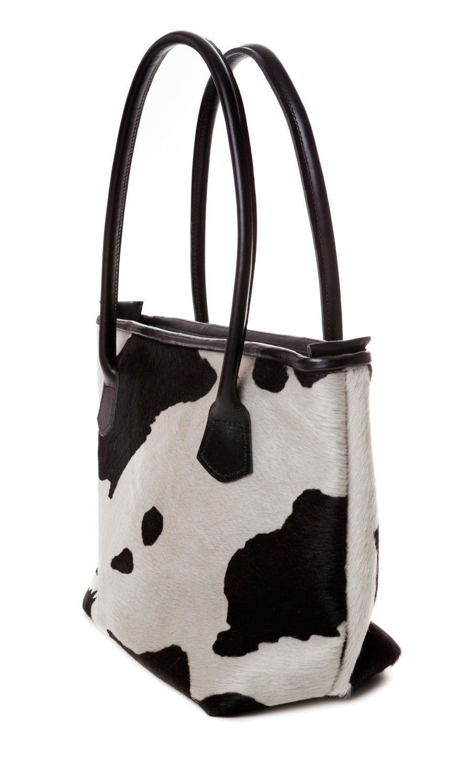 Regent Medium Cowhide Handbag- Tri-colour