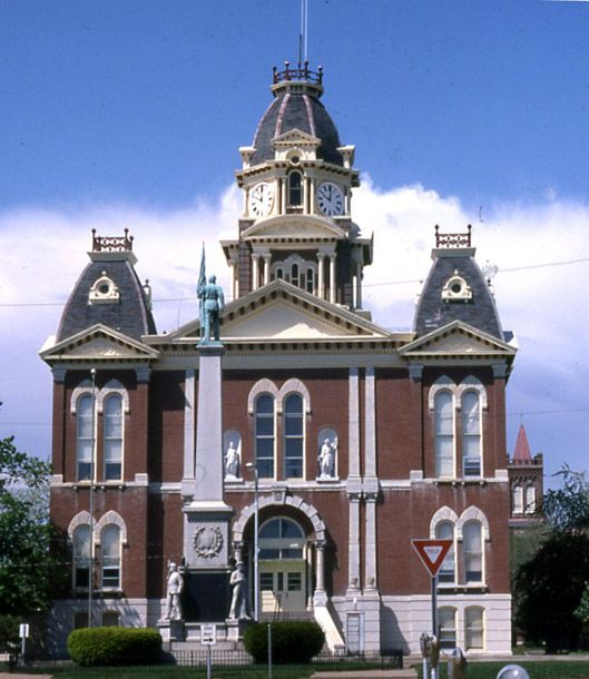 Landmarks Illinois Courthouse Initiative Grants Awarded Courthouse Shelbyville Victorian Homes