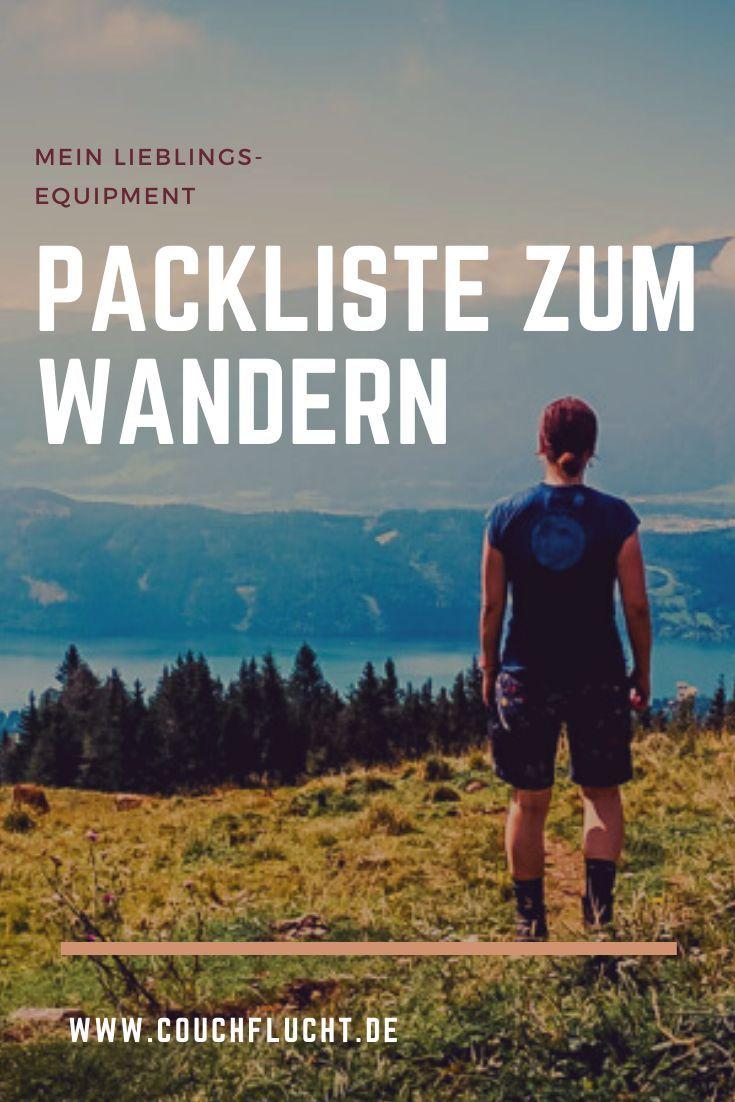 Photo of Die (nicht unbedingt ultimative) Packliste zum Wandern – Couchflucht.de