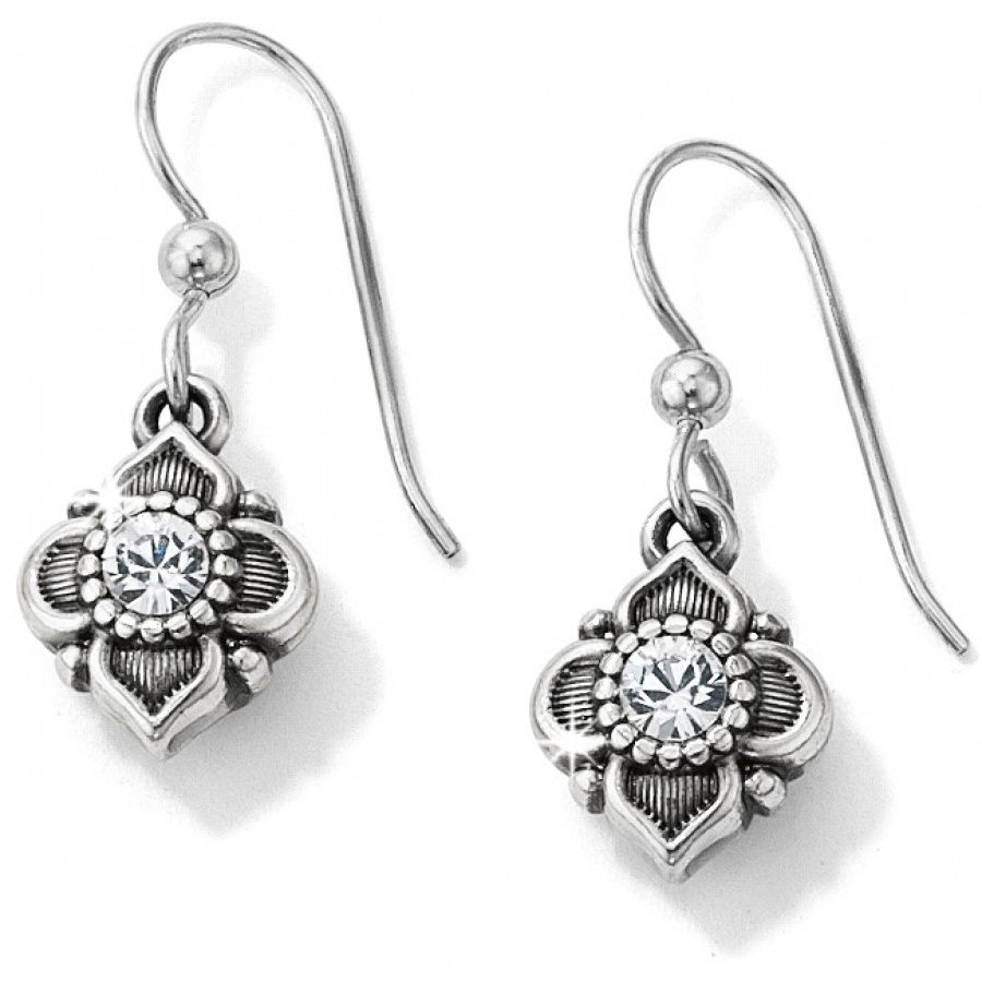 Alcazar French Wire Earrings | Wire earrings, Floral motif and Swarovski