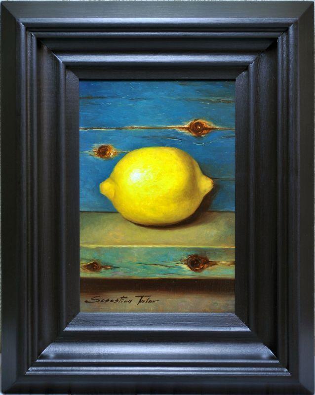 Sebastian Talar - obrazy olejne - Martwa natura z cytryną | Art ...