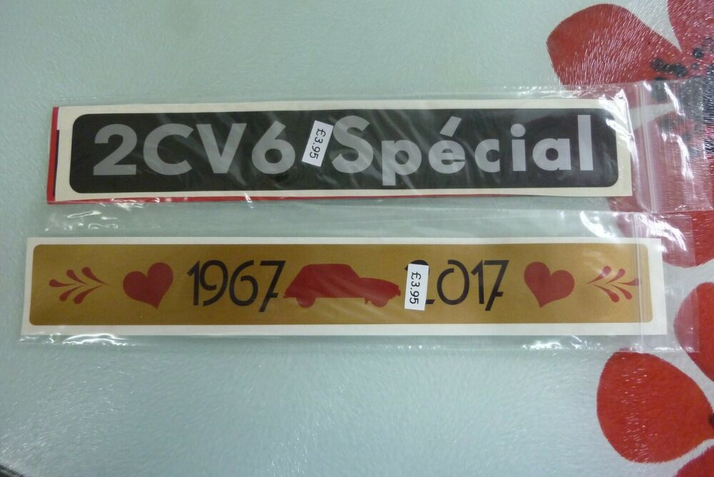 Citroen 2cv6 special sticker 19672017 sticker special
