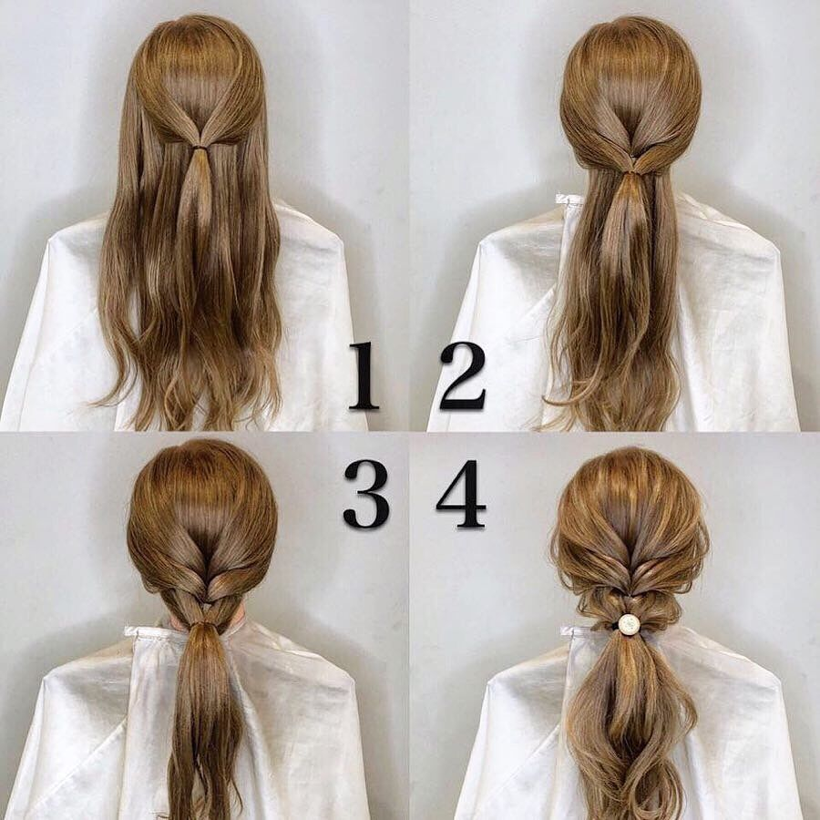 Newest Hair Tutorials You Can Totally Diy At Home 2019 2020 Hey Cinderella Wedding Hairstyles Tutorial Hair Tutorial Simple Bridal Hairstyle
