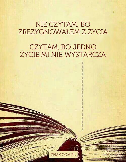 To Też Wasza Dewiza Cytaty życiowe Miłośnicy Książek Cytaty