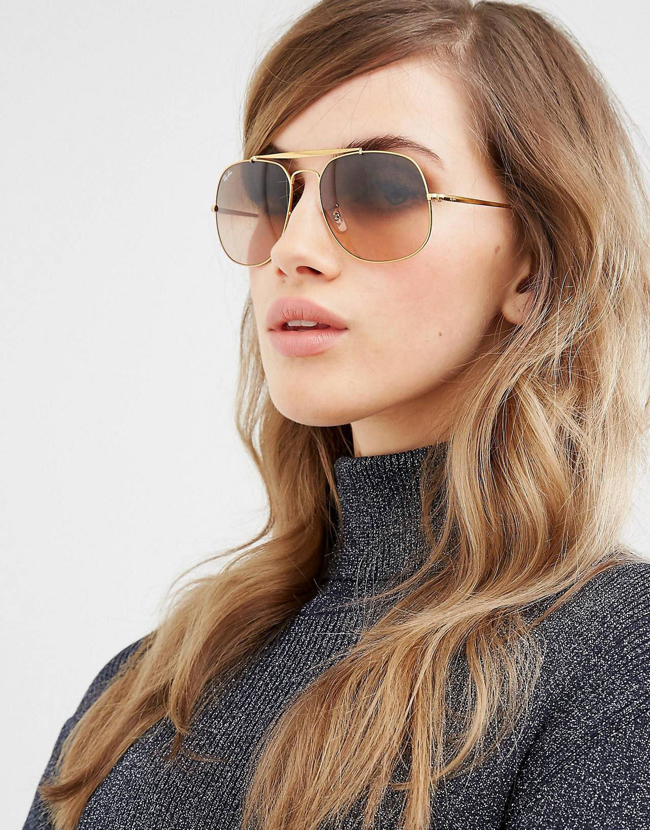 fec8a5d4a79f4 Ray ban the general aviator with ombre brown lens