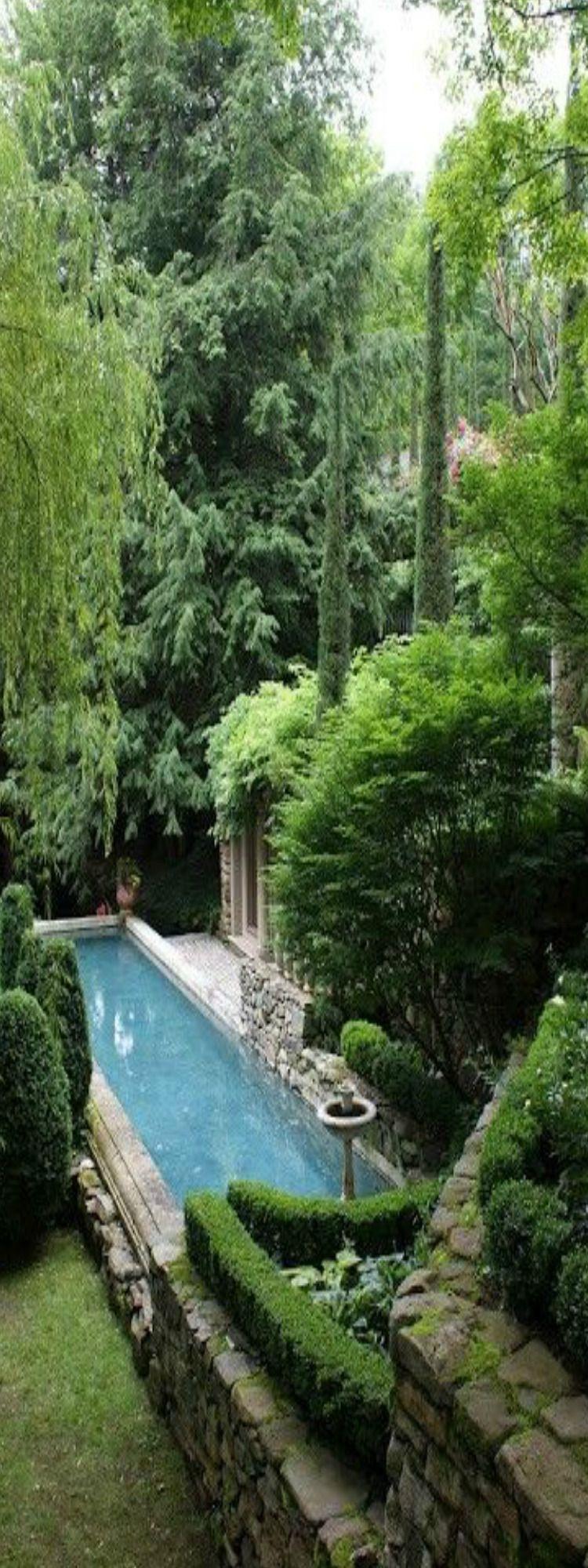 pin von liveyourdreams auf outdoor living pinterest garten pool im garten und garten ideen. Black Bedroom Furniture Sets. Home Design Ideas