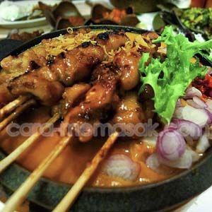 Resep Sate Ayam Madura Bumbu Kacang Resep Membuat Resep Resep Masakan Makan Malam
