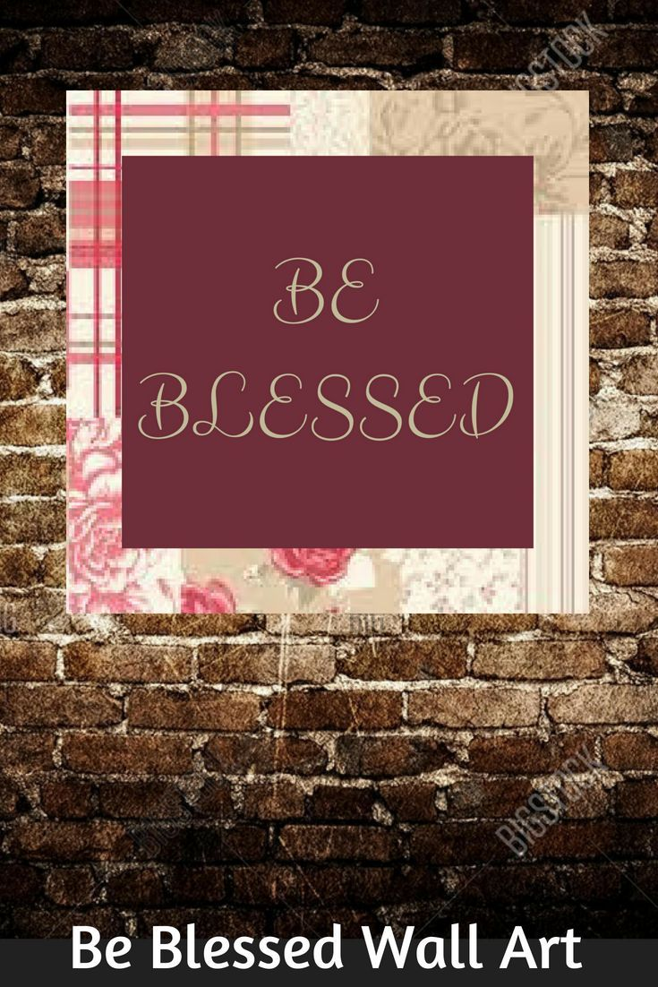 Be blessed christian spiritual canvas wall art zazzle