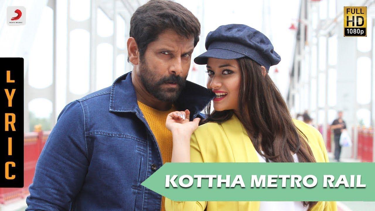 Kottha Metro Rail Song Lyrics From Saamy Vikram Keerthy Suresh Song Lyrics Songs Metro Rail