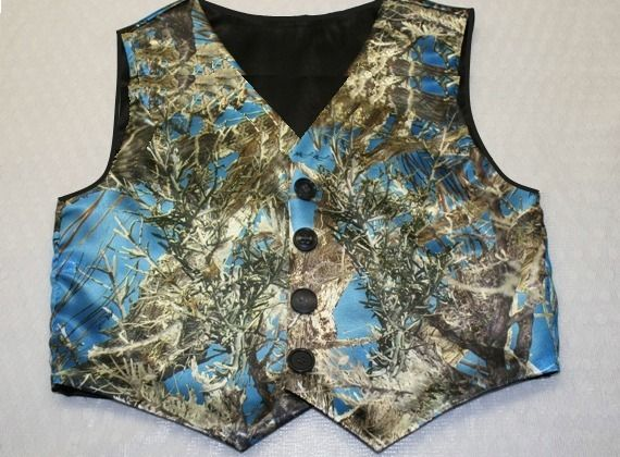 satin camo wedding camouflage vests adult 4995 httpstores