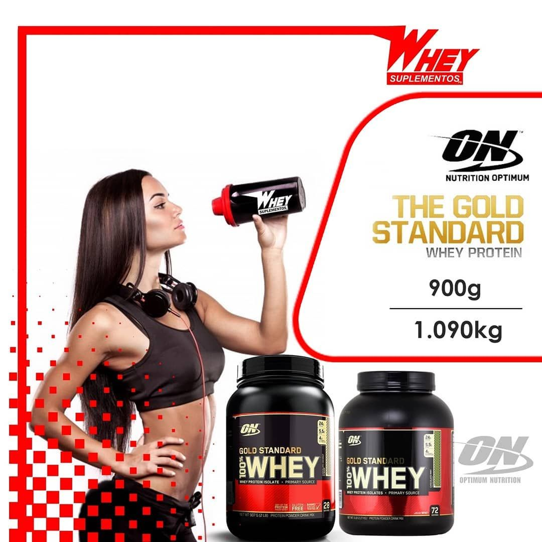 Whey Protein Gold Standard Optimum Nutrition 100 Whey Gold
