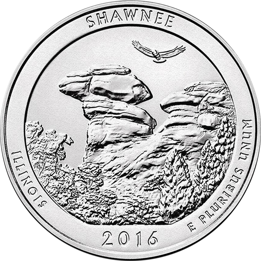 2016 P D S S S Theodore Roosevelt ATB Park QUARTER 5 SET PDSSS Silver Clad Proof