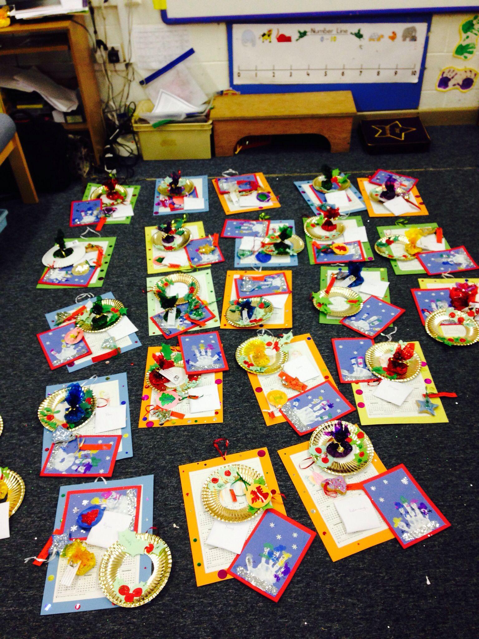 Christmas Decorations Reception School