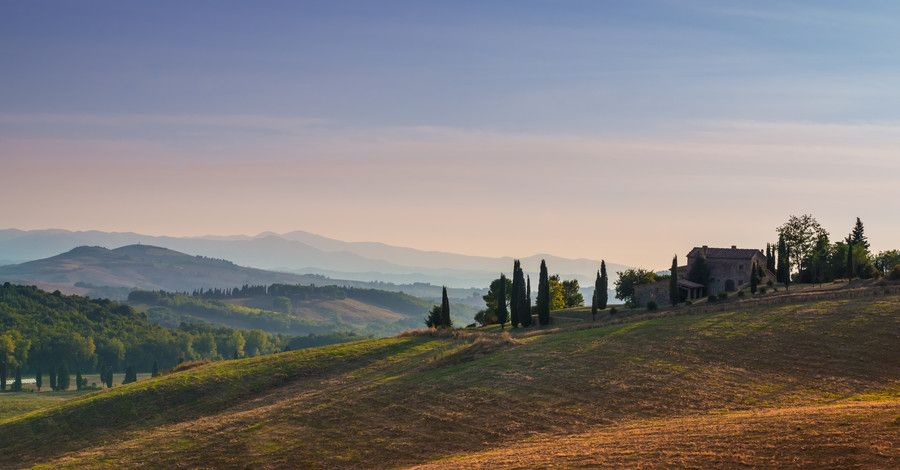 Tuscan Sunset by Davide Espertini on 500px