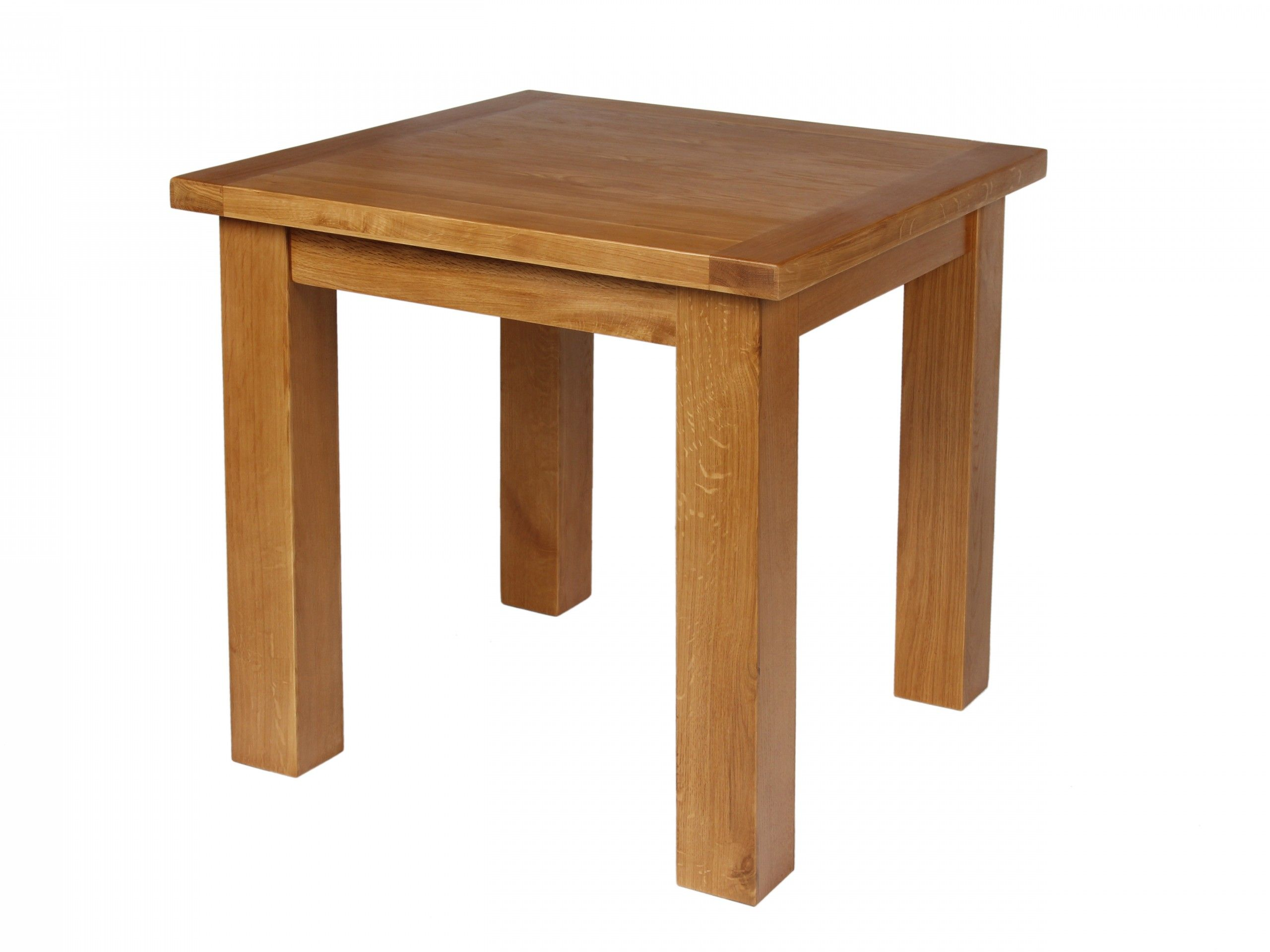 5b50f438e0af9 Country Oak Small Square 80cm wide dining table. Ideal for seating 2 - 3  people.Made from rustic American oak sourced from sustainable managed  forests.